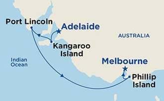 Australia Map 785.Golden Princess 6 Days Discover Southern Australia Myr 3 054